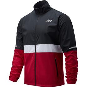 New Balance Accelerate Jacket Men, czerwony